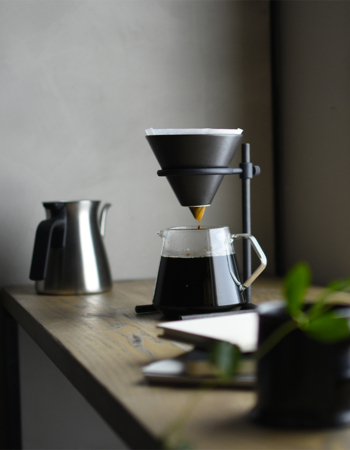Slow coffee set 4 cups