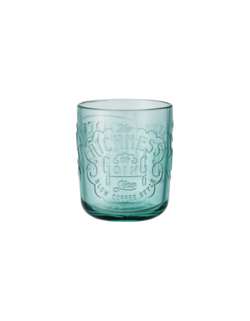 Cold Brew Coffee glass 350 ml turquoise