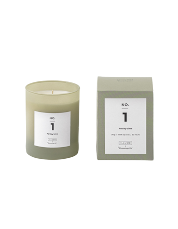 Parsley Lime Scented Candle Soy wax