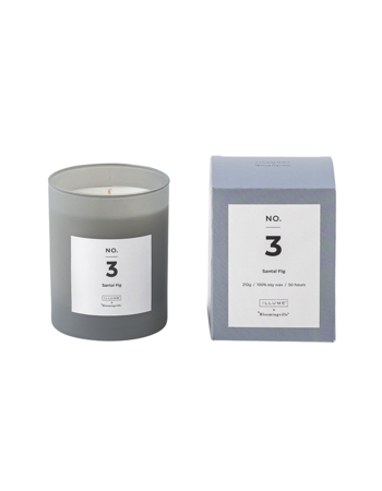 Santal Fig Scented Candle Soy wax