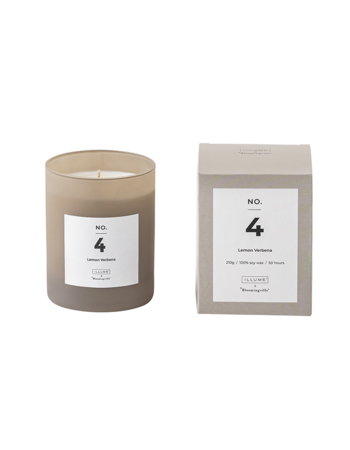 Lemon Verbena Scented Candle Soy wax