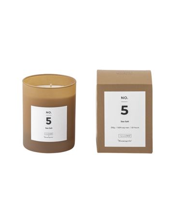 Sea Salt Scented Candle Soy wax