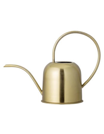 Watering Can Gold Metal