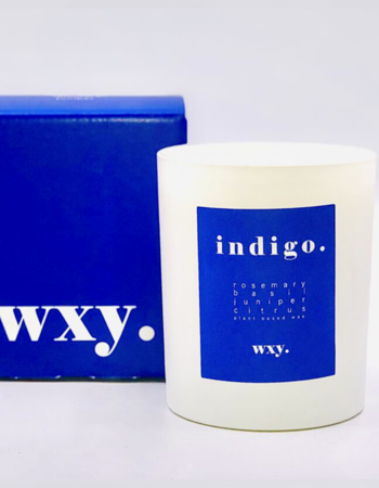 Candle Indigo. Rosemary & Juniper 7 oz.