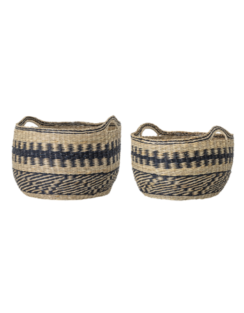 Basket Multi-color Seagrass