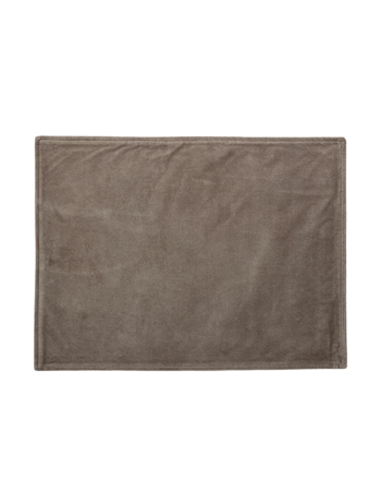 Placemat Brown Cotton