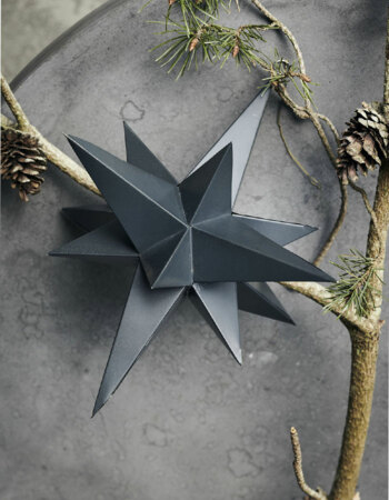 Star 3 Dimensional Black