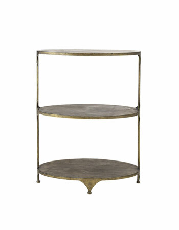 Ramino Bar Table Brass Metal