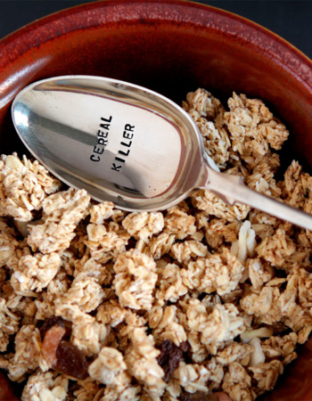 "Dessert spoon ""Cereal Killer!"""