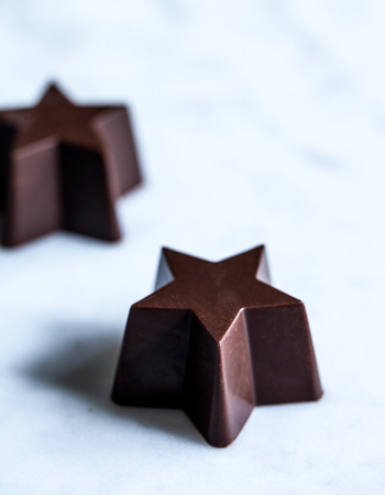 "Form for pralines ""Star"""